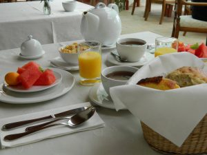 Our breakfast - La Mirage Parador