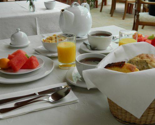 Our breakfast - La Mirage Parador