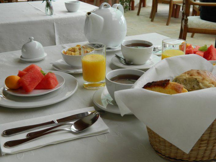 Nuestro desayuno - La Mirage Parador