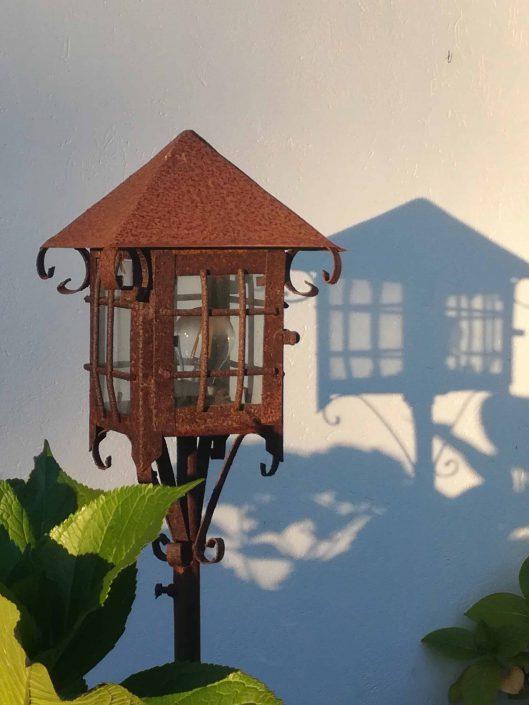 Lámpara rústica - La Mirage Parador