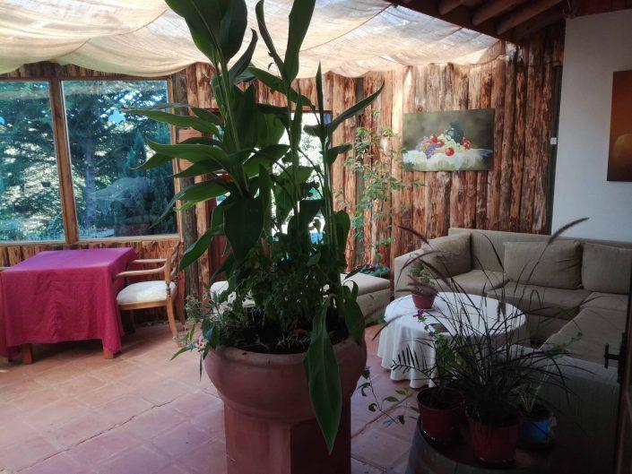 Terraza, rincón de descanso - La Mirage Parador