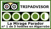Clasificación tripadvisor hotel - La Mirage Parador